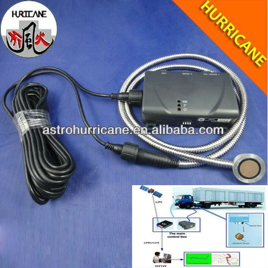gasoline tank consumption level sensor online monitoring with GPS/GPRS tracking device