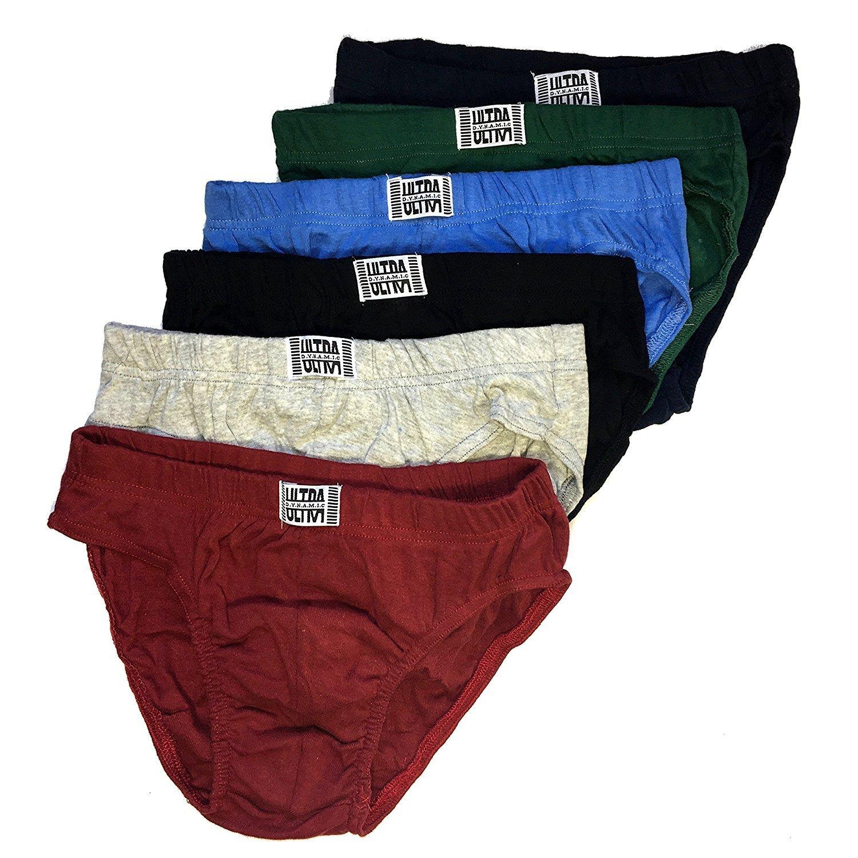 9c393f431392 Get Quotations · Ultra Mens Bikini Underwear Briefs Low Rise Sport Brief  Cotton Perfect for Equipo