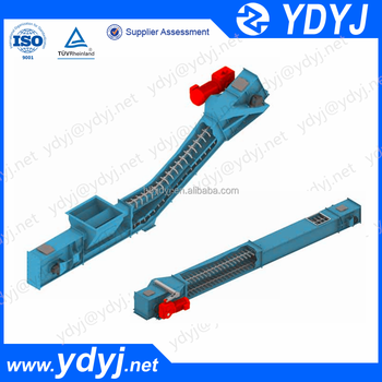 Scraper chain conveyor /vertical conveyor for coal fired power plant slag removal conveyor system