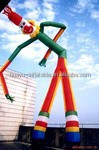 Inflatable sky dancer clown,Advertising Inflatable cartoon for promotion