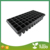 Made in china hot sale black plastic seeding tray, raising seedling dish for nursery plants