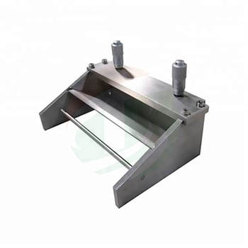 Small Stainless Steel Micrometer Adjustable Wet Film Applicator Bar - Buy  Film Applicator Bar,Film Applicator,Micrometer Adjustable Film Applicator