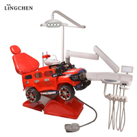 Dental suppliers hospital red color kids dental chair price Factory Sale