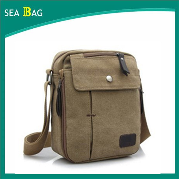 Men's Canvas Vintage Messenger Crossbody Over Shoulder Bag for Cross Body Casual Travel Sports bag