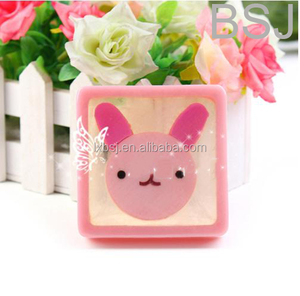 100g Crystal Fairy pink rabbit mild organic soap for whitening