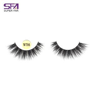 Private label and custom packaging new style thicker real mink fur false eyelash