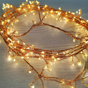 christmas micro mini rose gold led copper wire lights led fairy string