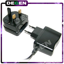 low price approval CE Rohs 250v 13a eu to uk plug with fuse EU to UK Euro Plug Converter