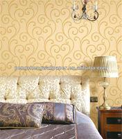 Brown Color Wallpaper Window Murals