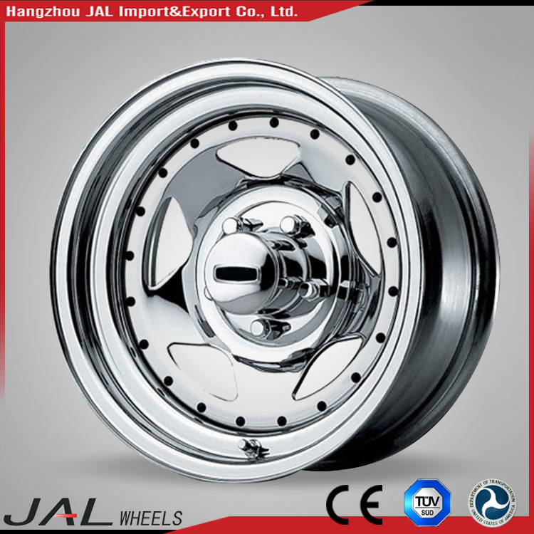 Different Size Customized Steel Machining Casted Car Alloy Wheel Rim