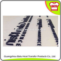 Rub-on scratching resistant 3d silicone heat transfer sticker