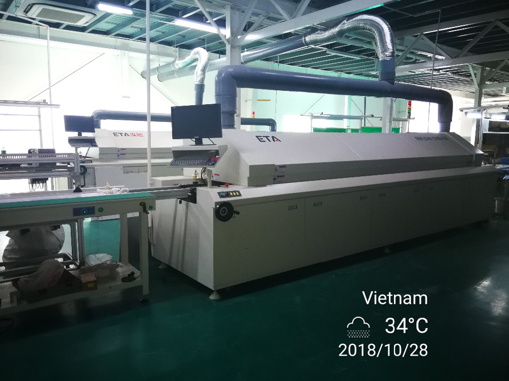 SMT Production LED Assembly Line SMD Equipments Bulb Making Machine ETA Factory