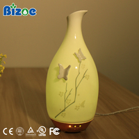 Aroma Flower Fragrance Plaster Ceramic Oil Aromatherapy Electric Home Humidifier Air Diffuser