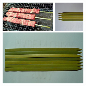 Hot selling flat bbq skewer machine with very good price and service