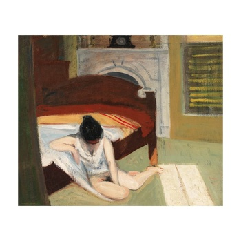 Free Shipping Edward Hopper Giclee Canvas Print Paintings Poster Reproduction Fine Art Wall Decor(Summer Interior)