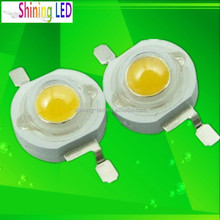 CCT 3000K 4000K 6000K 6500K White Color Bridgelux Chip 150-160lm 1W High Power LED