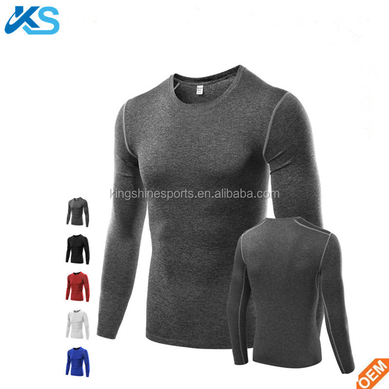 Wholesale Men's Casual Compression Tee T-Shirts Gym Sport Bicycle Running Jersey Men TOP t shirts