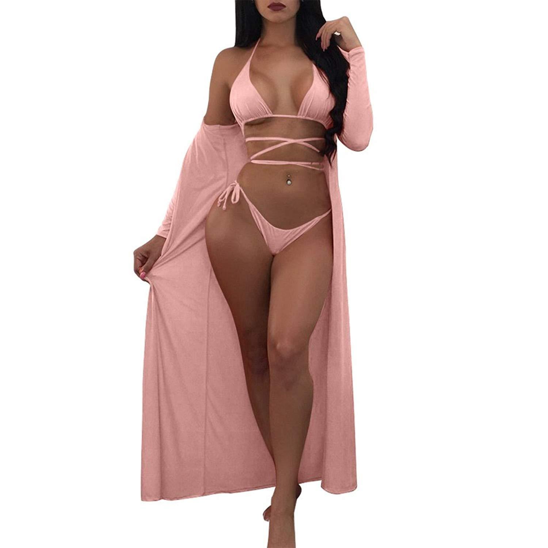 4a58ddf8337eb Get Quotations · Women Swim Beach Cover Ups for Bikini Plus Size Long  Sleeve Sun Protection Shawl Swimwear Beachwear