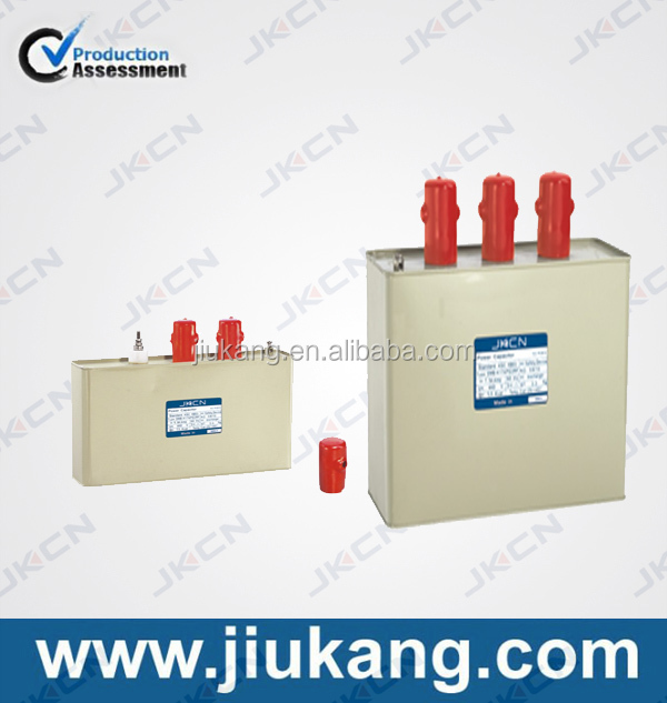 low voltage electric capacitor for power