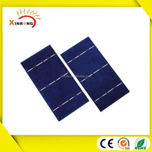 Customized size 156x78 MM 0.5V 2.1W PV broken solar cell,cutted solar cell,Broken PV solar cell