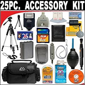 25 PC ULTIMATE SUPER SAVINGS DELUXE DB ROTH ACCESSORY KITFor The Samsung PL200 Digital Camera