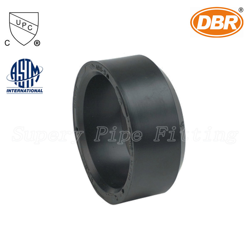 "3"" ABS DWV SCH40 ASTM D2661 Pipe Fitting CUPC Listed Socket End Cap"