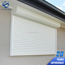 External Aluminum Manumotive Rolling Shutters Fire Rated Roll Down Shutter Windows