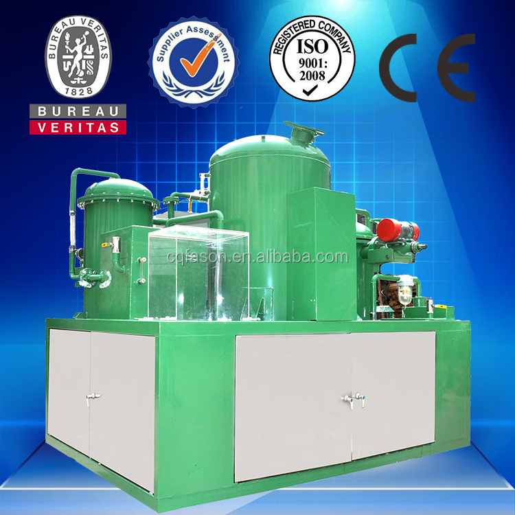 Latest technology and good filtration waste oil refinery
