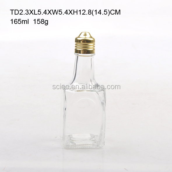wholesale glass oil and vineger bottle high quality oil bottle