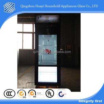 Transparent Lcd Glass Cooler Doors Cost Buy Glass Cooler Doors