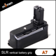 Professional Retail Packaging Perfect Selfie Battery Grip Digital Camera Battery Grip FW50 For Sony A7 Video Equipment