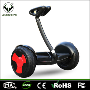 10 inch self balancing two wheeler electric scooter with bluetooth LED lights