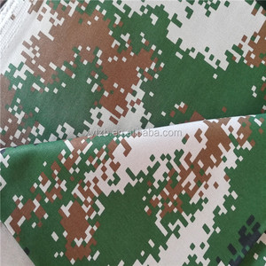 Factory supply cotton flameproof camouflage fabric
