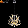 Alibaba express china hanging light crystal chandeliers made in china OM88568W-Cognac