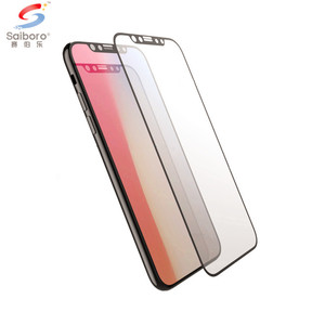 Saiboro smartphone film anti shock proof phone case tempered glass screen protector for samsung a9 pro note 9 s9 s9 plus
