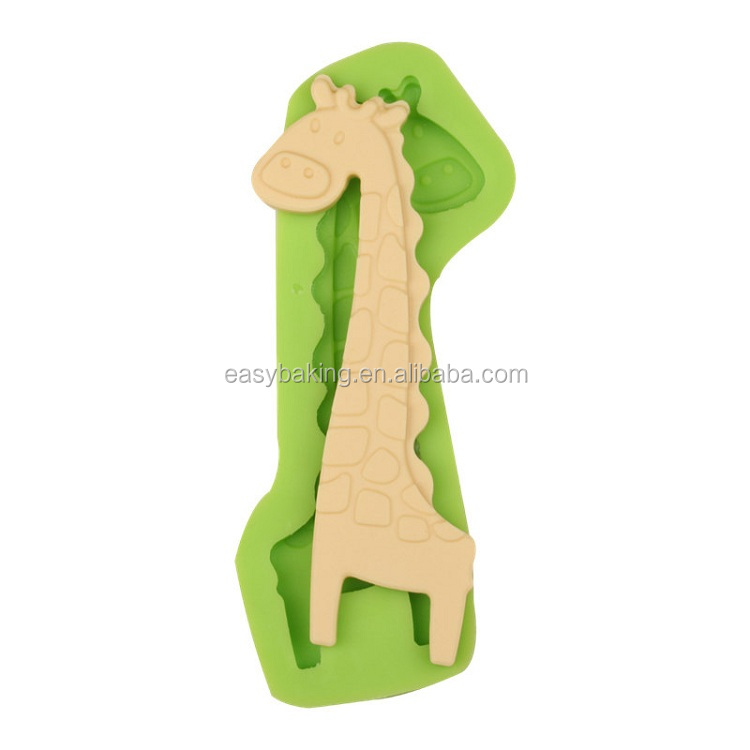 ES-0040 Giraffe Silicone Molds Fondant Mould for cake decorating.jpg
