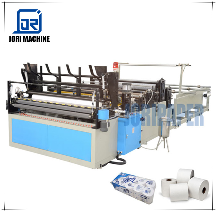 China Manufacturer 1575 Fully Automatic Toilet Tissue Paper and Kitchen Towel Paper Rewinding Machine