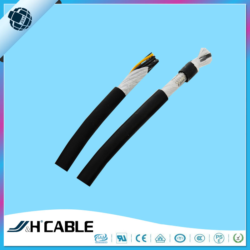 Flexible PVC Coated Aluminium Shielded Copper Wire UL2587