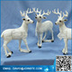 Resin deer head wall decoration life size deer statues
