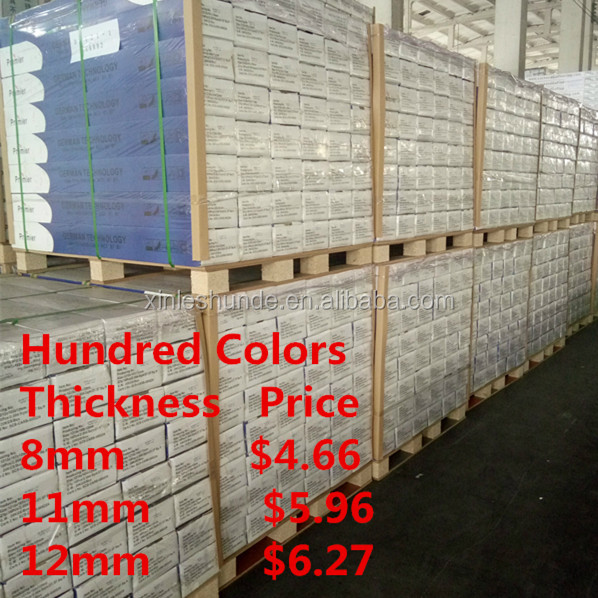 8mm 12mm Blue Best Price Laminate Flooring Buy Directly from Factory