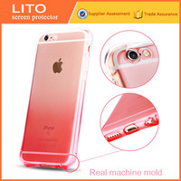 anti shock color changing glass protective cases for iphone 5 5s