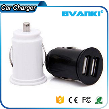 Tablet Accessories Plug Lighter Cigarette Black And White Car Charger Wireless Univeral Mobile Charger For Car