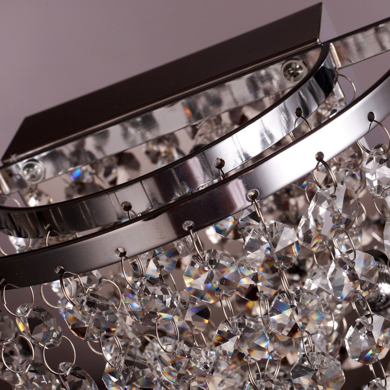 K9 Crystal LED Wall Lamp For Wedding Decoration Model:SC1020
