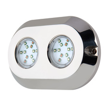 RGB Tahan Air 120 W IP68 316L Stainless Steel LED Tahan Air Crees LED Marine Pencahayaan