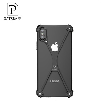 separation shoes c73da b4ae5 Oatsbasf Design Patent Creative X Shape Metal Bumper Case Phone Cover For  Iphone X - Buy Case Phone Cover,Metal Case,X Case For Iphone Product on ...