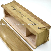 Customized Wholesale luxury tea wood packing box/pine wood wine boxes/vintage wooden box for fruit and vegetables wine, beverage