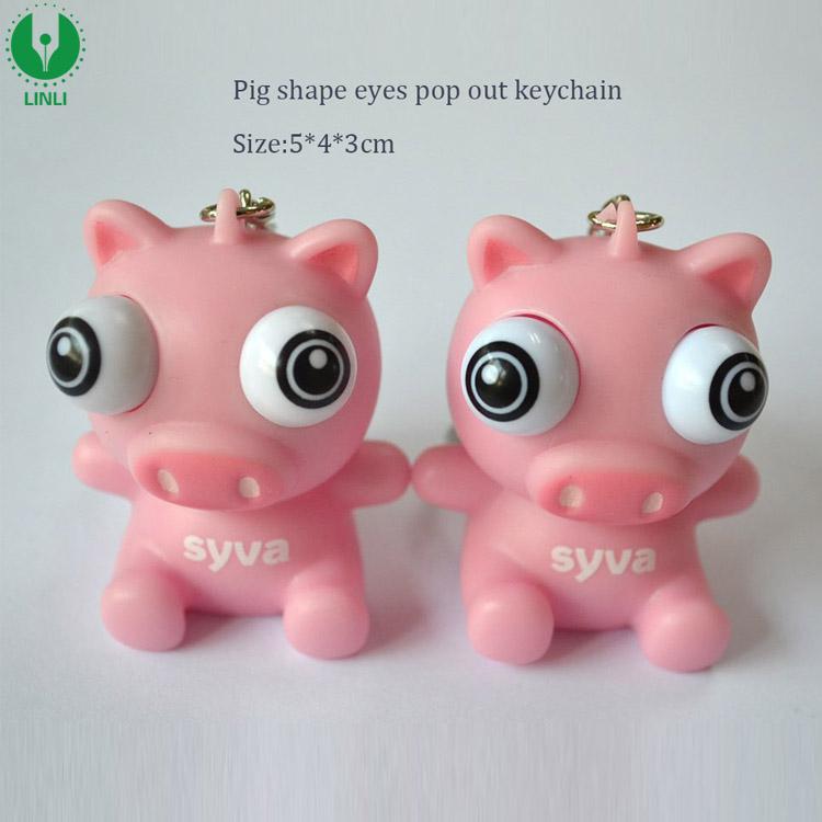 Pig Eye Pop Keychain 1822c00d5da3