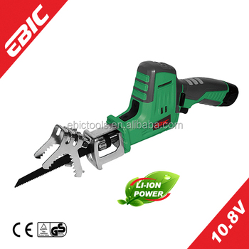 EBIC Professionele Power Tools 10.8 V Cordless Tuin Hout Snijden Saw