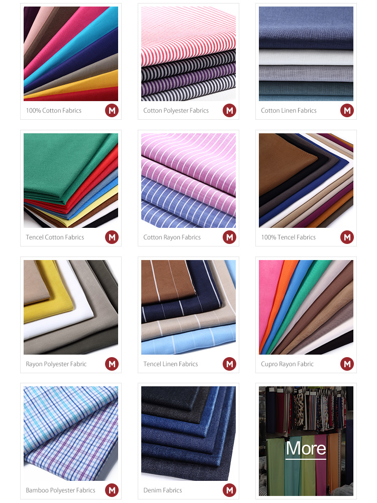 High quality colorful cloth for garments plain rayon fabric viscose