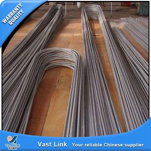 U shaped heat exchange stainless steel tube buy shape